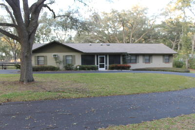 Marion County Single Family Home For Sale: 9 Wagon Wheel Way