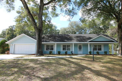 Ocala Single Family Home For Sale: 10622 SW 74th Terrace