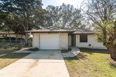Ocala Single Family Home For Sale: 10 Silver Drive