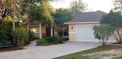 Ocala Waterway Single Family Home For Sale: 4280 SW 103rd St Street