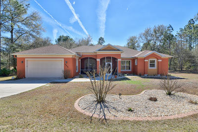 Dunnellon Single Family Home For Sale: 18036 SW 68th Loop