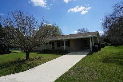 Ocala Single Family Home For Sale: 6392 SW 108 Place