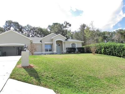 Dunnellon Single Family Home For Sale: 8770 SW 194 Court