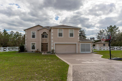 Ocala Waterway Single Family Home For Sale: 4440 SW 110th Street