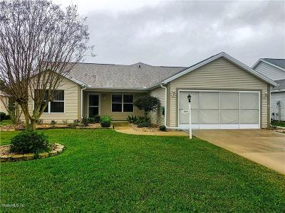 The Villages Single Family Home For Sale: 2409 Merida Circle