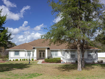 Ocala Waterway Single Family Home For Sale: 3927 SW 102nd Ln Road