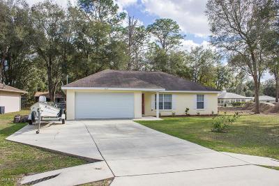 Ocala Single Family Home For Sale: 6425 Hemlock Road