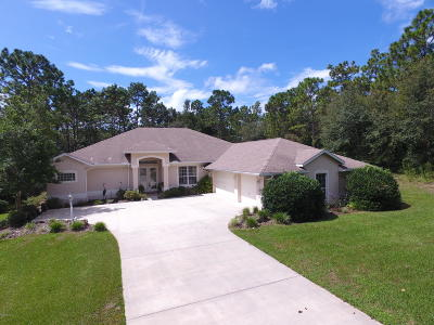 Dunnellon Single Family Home For Sale: 9215 SW 197th Circle