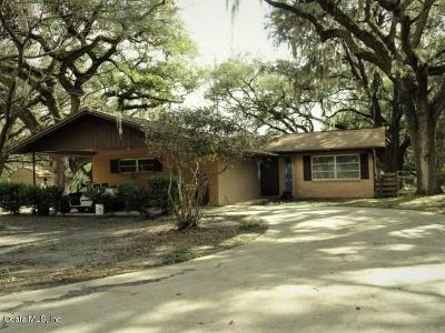 Dunnellon Single Family Home For Sale: 24994 SW Sailboat Drive