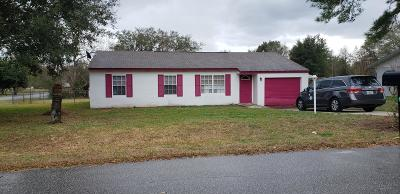 Ocala Single Family Home For Sale: 10 Pine Circle Drive
