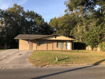 Ocala Single Family Home For Sale: 1007 NE 2nd Street