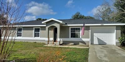 Summerfield Single Family Home For Sale: 13638 SE 53rd Terrace