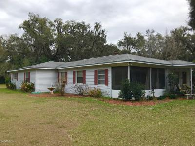 Williston Single Family Home For Sale: 16350 NE 40 Street