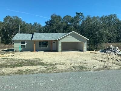 Dunnellon Single Family Home For Sale: 8211 SW 200 Court