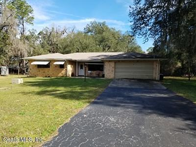 Levy County Single Family Home For Auction: 19249 SE Butler Road