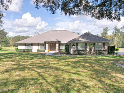 Ocala Single Family Home For Sale: 5894 NW 80th Avenue Road
