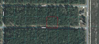 Ocala Waterway Residential Lots & Land For Sale: 3929 SW 115 Street