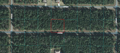 Ocala Waterway Residential Lots & Land For Sale: 4515 SW 112 Lane