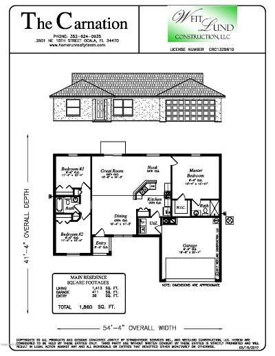 Single Family Home For Sale: 13 Juniper Trail Run