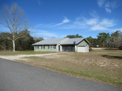 Dunnellon Single Family Home For Sale: 22285 SW Nectarine Lane