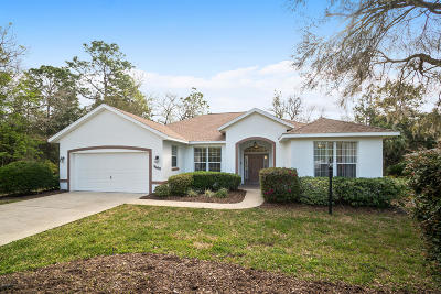 Dunnellon Single Family Home For Sale: 9690 SW 198 Circle