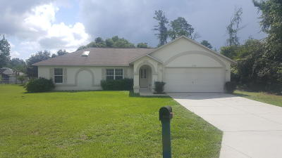 Ocala Single Family Home For Sale: 13583 SW 43rd Circle