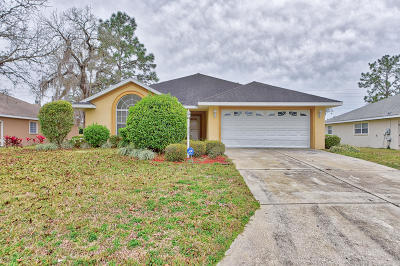 Ocala Single Family Home For Sale: 309 Lake Diamond Avenue