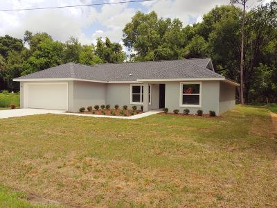 Belleview Single Family Home For Sale: 6775 SE 122 Lane