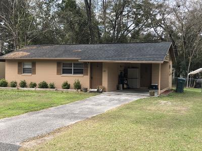 Ocala FL Single Family Home For Sale: $70,000