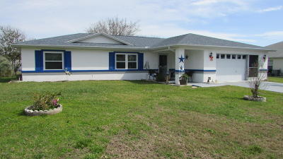 Ocala Single Family Home For Sale: 6190 SW 100th Loop