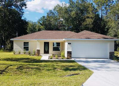 Summerfield FL Single Family Home For Sale: $172,900