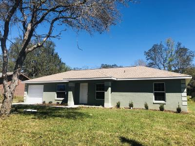 Ocala Single Family Home For Sale: 43 Pine Radial