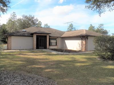 Citrus County Single Family Home For Sale: 2110 W Fir Place