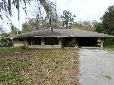 Citrus County Single Family Home For Sale: 5817 W Riverbend Road