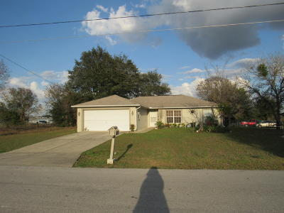 Ocala Single Family Home For Sale: 13 Juniper Pass Drive