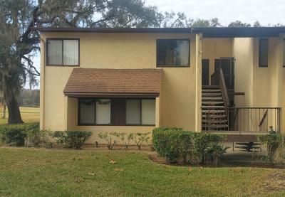 Ocala Condo/Townhouse For Sale: 753 Midway Drive #B