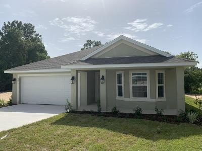 Ocala FL Single Family Home For Sale: $180,750