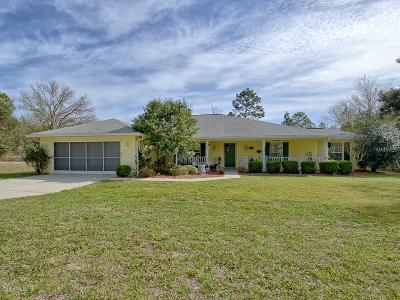 Dunnellon Single Family Home For Sale: 389 SW Big Tree Road