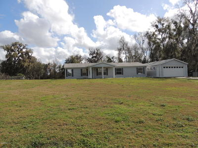 Ocala Single Family Home For Sale: 10295 NW 17th Avenue