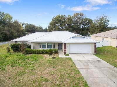 Ocala Single Family Home For Sale: 46 Hemlock Terrace