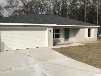 Ocala Single Family Home For Sale: 6060 NW 59th Avenue