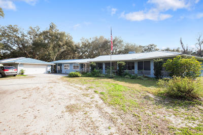 Lake County, Sumter County Single Family Home For Sale: 1797 E C-478