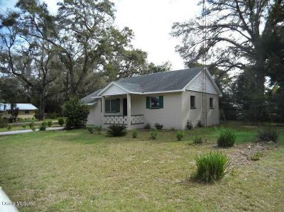 Belleview Single Family Home Pending: 6380 SE 109 Street