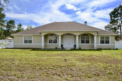 Ocala Single Family Home For Sale: 4822 SW 112th Street