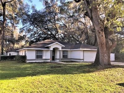 Ocala Single Family Home For Sale: 21 Redwood Trace
