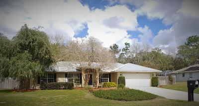 Ocala Single Family Home For Sale: 5821 SW 112th Place Road