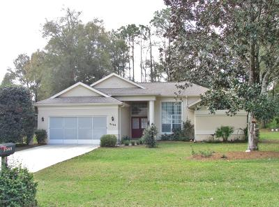 Dunnellon Single Family Home For Sale: 9568 SW 196 Ave Road