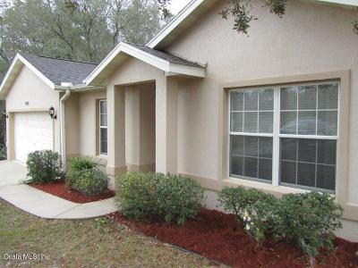 Belleview Single Family Home For Sale: 9498 SE 106 Place