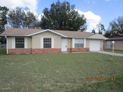 Ocala Single Family Home For Sale: 32 Sapphire Way