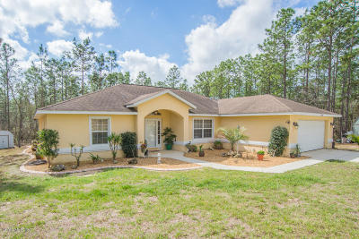 Dunnellon Single Family Home For Sale: 13560 SW 85th Place